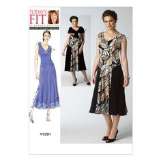 Mccall Pattern V1391 All Sizes -Vogue Pattern