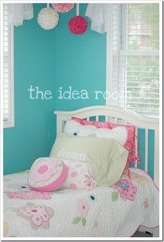 girl's room paint