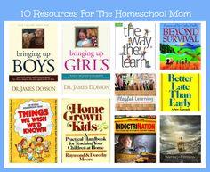 10 Homeschool Resources To Encourage Moms