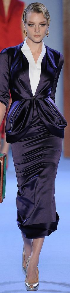 Ulyana Sergeenko Spring 2014 Couture. Very elegant!