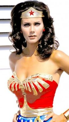 Wonder Woman....no one has seen us both at the same time...just sayin'