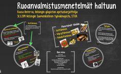 PORTFOLIO | Helsingin työväenopiston Ruoanvalmistuksen menetelmät haltuun -kurssin toisen kurssikerran materiaali.