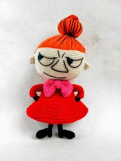 crochet Little Me - Moomins. Cute Crochet, Crochet For Kids, Crochet Dolls, Crochet Baby, Knit Crochet, Amigurumi Doll, Amigurumi Patterns, Knitting Patterns, Crochet Patterns