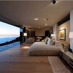 By Peerutin Architects here's a bedroom with a view. #Bedroom #Architecture #Design