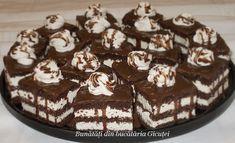 Prajitura cu blat de cacao si crema mascarpone - Bunătăți din bucătăria Gicuței Diy Kitchen Remodel, Food Cakes, Cake Recipes, Deserts, Food And Drink, Pudding, Pies, Mascarpone, Cakes