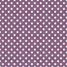 Vintage Violet Polka Dots fabric by kristopherk on Spoonflower - custom fabric