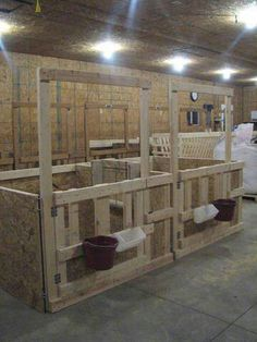 Removable Goat Stalls For The Barn