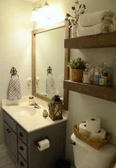 Best Small Bathroom Makeovers Ideas On A Budget Pinterest - Modern bathroom makeovers