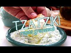 Prepara si tu acasa in cativa pasi simpli. Tzatziki, Catio, Cooking Recipes, Face, Youtube, Salads, Cooker Recipes, Youtubers