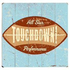 Touchdown sign! Norman Mills Pediatric Dental Associates, pediatric dentist in Lombard, IL @ www.millskidsdds.com