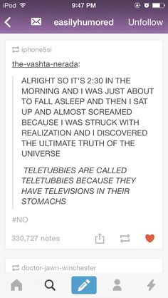 i thought this was general knowledge?? ahha but i used to watch this religiously