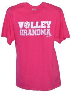 Volley Grandma Short Sleeve Volleyball T-shirt