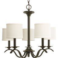 South Shore Decorating: Capital Lighting 3915BB-454 Midtown Transitional 5-Light Chandelier CP-3915-BB-454