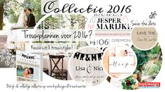 hipDesign Collectie trouwkaarten 2016
