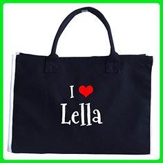 I Love Lella. Funny Gift - Tote Bag - Totes (*Amazon Partner-Link)