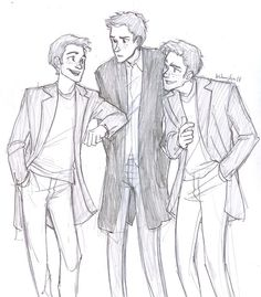 Fred, Ron, and George.