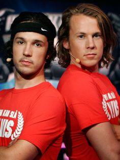 Ylvis Brothers Bård and Vegard Ylvisåker