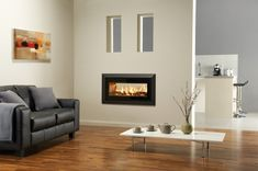 The Stovax Studio Duplex is the first double-sided inset wood burning fire to be introduced into the Studio range.