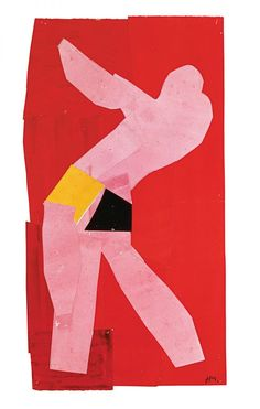Henri Matisse. Small Dancer on a Red Background (1937-38)
