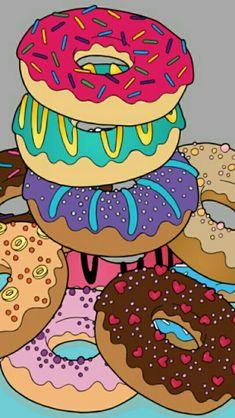 Sweet Food Names - Fall Food Art - Food Cravings Easy - Comfort Food Cold Weather - Handy Wallpaper, Pop Art Wallpaper, Trippy Wallpaper, Food Wallpaper, Cute Wallpaper Backgrounds, Wallpaper Iphone Cute, Cute Wallpapers, Iphone Backgrounds, Pop Art Food