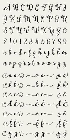 Molly Script Full Alphabet SVG Fonts Cutfile - Gorgeous Multiple Swashes fancy cricut font - DXF EPS Silhoutte Cricut - clean cutting files - PLEASE NOTE that this is NOT font-software and can NOT be installed as .ttf or .otf so you can type - Calligraphy Fonts Alphabet, Handwriting Alphabet, Hand Lettering Alphabet, Fancy Fonts Alphabet, Script Alphabet, Letter Fonts, Easy Caligraphy, Cute Handwriting Fonts, Graffiti Alphabet