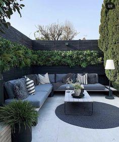 Back Garden Design, Garden Landscape Design, Patio Design, Outdoor Landscaping, Backyard Patio, Outdoor Gardens, Landscaping Ideas, Outdoor Spaces, Outdoor Living