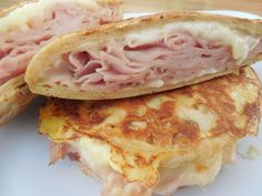 Fold-out Montecristo Sandwich 2 Servings .....6 Smart Points each.