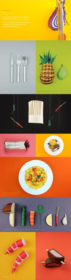 PAPERFOOD on Behance