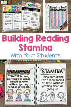 This Reading Stamina set will help build stamina with students. You will receive 32 pages of anchor charts, posters, and graphing sheets to help your kids build stamina while having fun! This product is perfect for the and grade classroom. Stamina Anchor Chart, Anchor Charts, What Is Reading, Reading Goals, Building Reading Stamina, Quick Print, Read To Self, 5th Grade Classroom, Charts And Graphs