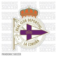 Deportivo La Coruña Spain Vinyl Sticker Decal Adhesive Vinyl, Stickers, Color Print, Club, Premier League, Soccer, Logos, Design, Products