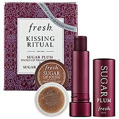 Brown sugar lip polish gently removes rough, chapped patches and the tinted lip treatment is so light and silky.  My favorite lip stuff ever!