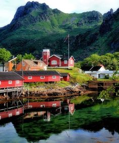 Svolvaer, Norway.