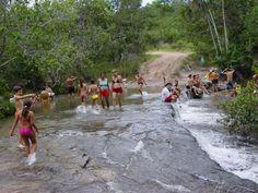 Passagem no Rio Indio.