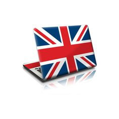 Union Jack MacBook Skin | iStyles Premium Fashion Accessories for iPhone, iPod, PSP, Nintendo, Blackberry, Treo, Gaming Consoles and more, found on polyvore.com