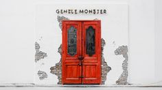 Gentle Monster ( 젠틀몬스터 ), a Korean brand which is more than an ONLY simply brand. This post is exclusively about my beloved Korean s. Retail Facade, Shop Facade, Cafe Interior, Interior And Exterior, Retail Interior, Shoe Store Design, Casa Hotel, Building Front, Color Plan