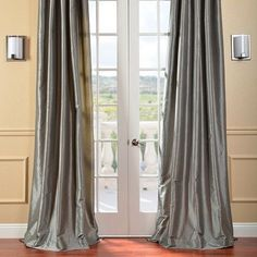 "Astoria Grand Lochleven Blackout Thermal Single Curtain Panel Color: Platinum, Size: 50"" W x 120"" L"