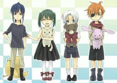 D. Gray Man. THEY'RE ALL SO ADORABLE!!!!!! Haha Kanda's the cutest in my opinion ;)