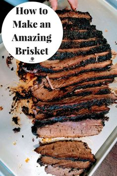 Cooking an amazing brisket using Snake River Farms Wagyu Beef Brisket.