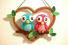 Crochet Love Birds - Love Birds Haken [Amigurumi]