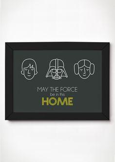 Poster Star Wars - Meu Adorável Iglu