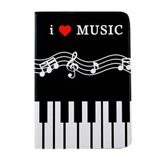 DIYJewelryDepot Piano I Love Music Passport Cover Holder Black Travel Case * Want to know more, click on the image. Note:It is Affiliate Link to Amazon.