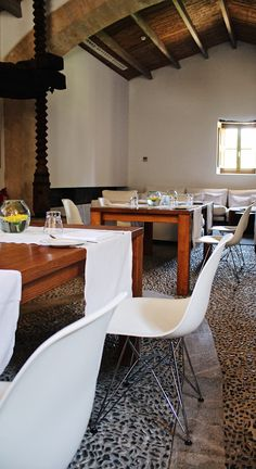 U-Bar at Son Brull Hotel & Spa in Mallorca is located in an ancient olive press.