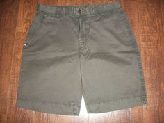 NWT SALTAIRE EXPRESSO BROWN SOHO TWILL SHORTS, SZ 34. EXCELLENT CONDITION!  #SALTAIRE #CasualShorts