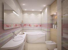 современный стиль, интерьер в современном стиле, санузел, дизайн санузла, интерьер ванной комнаты