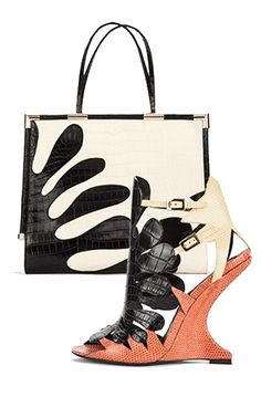 Roger Vivier Wedge Sandal and Bag | Shoes CH