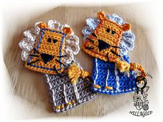 Crochet PATTERN, Applique, Patch, Application Lion, DIY Pattern 157