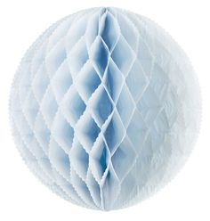 Large Honeycomb Paper Poms Blue - The Wedding of My Dreams