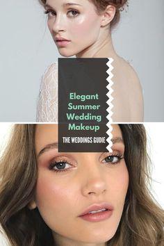 Elegant Summer Wedding Makeup Tips and Ideas #wedding Summer Wedding Makeup, Wedding Makeup Tips, Wedding Make Up, Wedding Ideas, Engagement Photo Makeup, Engagement Photos, Makeup To Buy, How To Apply Makeup, Makeup Inspiration