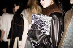 3.1 Phillip Lim Fall 2014 - Backstage - Photographed by Shawn Brackbill