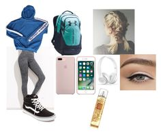 """""""First Day of School"""" by diamond-eyes-mmi ❤ liked on Polyvore featuring adidas, Vans, Under Armour and BackToSchool"""